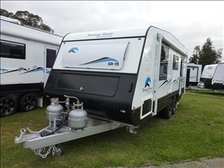 NEW 2018 SNOWY RIVER SR19 19 FT CARAVAN WITH REAR ENSUITE