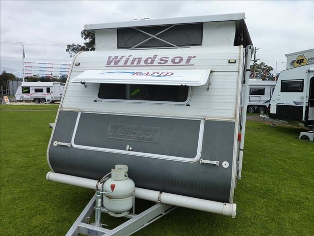 2005 WINDSOR RAPID POP TOP 14 FOOT FRONT KITCHEN REAR FOLD OUT DOUBLE BED ON SALE NOW