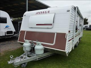 2007 ROMA SOV'REIGN 21FT CARAVAN WITH FULL ENSUITE
