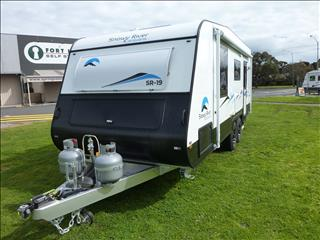 NEW 2017 SNOWY RIVER SR19 19 FOOT CARAVAN WITH REAR ENSUITE