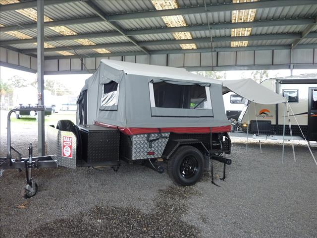 2010 EZYTRAIL OFF ROAD CAMPER  -  BUCKLAND ON SALE NOW