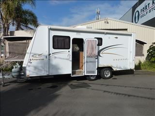 2009 JAYCO EXPANDA CARAVAN WITH SHOWER AND TOILET 19FT BODY