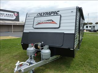 NEW 2018 MODEL 21FT OLYMPIC MARATHON CARAVAN