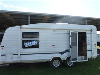 2009 18FT 6IN ROMA SOVEREIGN TANDEM CARAVAN