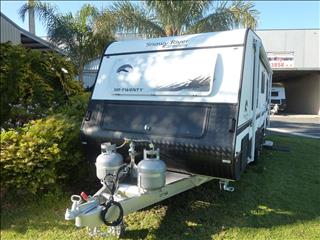 2019 SNOWY RIVER SR20 21FT ENSUITE CARAVAN