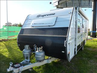 2011 SUPREME AERO 18 FOOT WITH REAR ENSUITE ON SALE NOW
