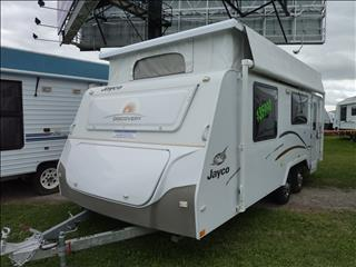 "2012 JAYCO DISCOVERY POP TOP 18'6"" WITH SHOWER AND TOILET"