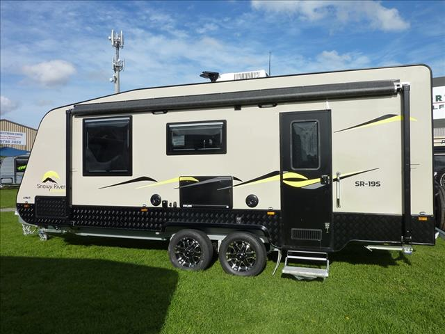 19 FOOT SNOWY RIVER CARAVAN WITH SIDE OUT LOUNGE ON SALE NOW