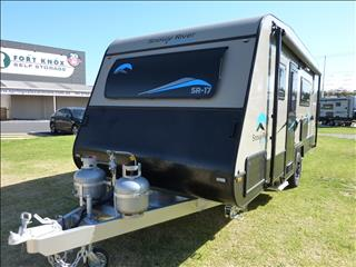 NEW 2018 SNOWY RIVER SR17 MODEL 18 FT  CARAVAN IN MOCCA