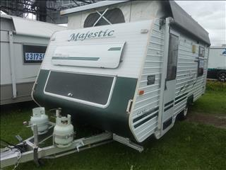 2004 MAJESTIC 17FT GOLD TOURER POP TOP