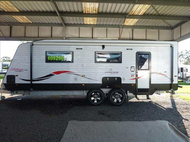 NEW 2017 LIVING EDGE BELLAGIO CARAVAN PREMIUM EDITION 7.2M - 23FT 6IN SEMI OFF ROAD