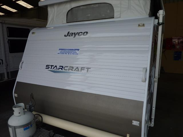 2012 JAYCO STARCRAFT POP TOP 13 FOOT 6 INCH - AS GOOD AS NEW - ON SALE NOW