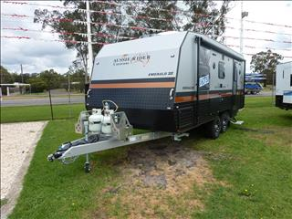 NEW 2018 20FT AUSSIE RIDER SEMI OFF ROAD CARAVAN