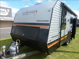 2019 AUSSIE RIDER 19ft 6IN TREASURE FAMILY BUNK CARAVAN ON SALE NOW