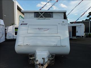 2006 AVAN RAY 14MK2  FAMILY POP TOP 15FT 6IN WITH 2 BUNKS