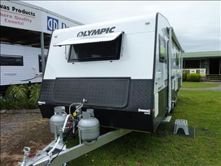 NEW 2016 OLYMPIC PREMIUM SLIDER LUXURY TOURING CARAVAN