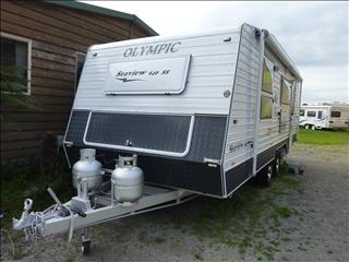 2011  OLYMPIC  SEAVIEW  640 SS REAR ENSUITE -  ON SALE NOW
