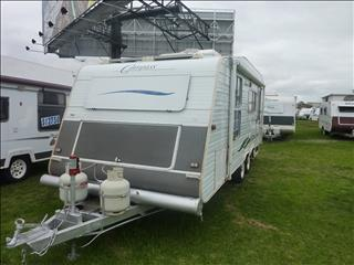 2002 COMPASS 19FT SHOWER/TOILET CARAVAN