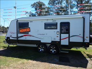 2017 LIVING EDGE BELLARGIO CARAVAN 21FT 6IN