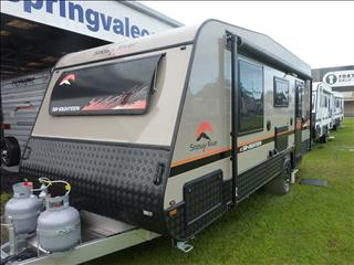 ALL NEW 2019 SNOWY RIVER SR18 SINGLE AXLE CARAVAN