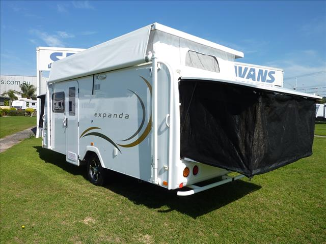 2009 JAYCO EXPANDA 16FT POP TOP WITH ANNEXE WALLS