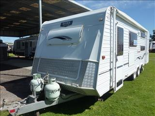 2004 ROMA ELEGANCE 24FT TANDEM SHOWER/TOILET CARAVAN