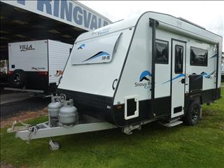 USED 2017 SNOWY RIVER SR15 SINGLE AXLE 16FT ENSUITE CARAVAN