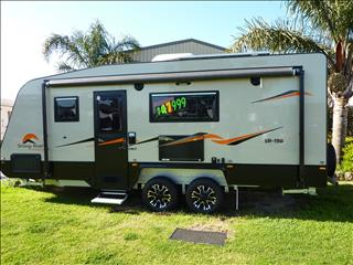 NEW 2017 SNOWY RIVER SR19B TRIPLE BUNK FAMILY CARAVAN