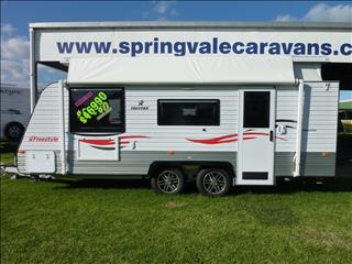 NEW 2016  TRUSTAR FREESTYLE POP TOP 19FT 6IN  WITH REAR ENSUITE