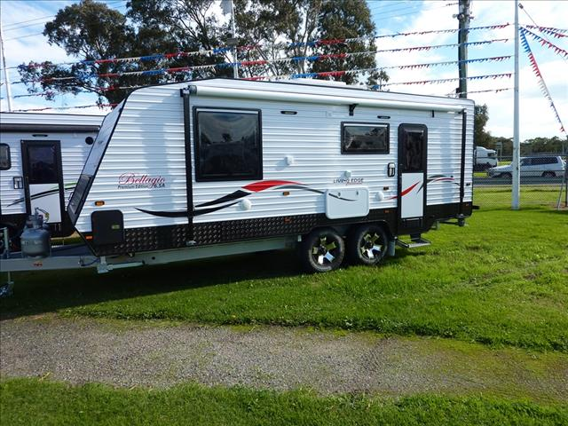 NEW 2017 LIVING EDGE BELLAGIO 6.5A CARAVAN 21FT 6IN ON SALE NOW
