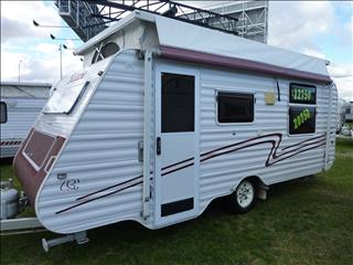 BELAIRE POP TOP 2007 18 ft  SINGLE AXLE - IDEAL LIGHT TOURING VAN.