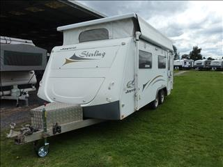 2009 JAYCO 18FT 6IN STERLING TANDEM AXEL POP TOP