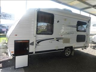 2013 16FT SUPREME AERO CARAVAN WITH COMBO SHOWER/TOILET