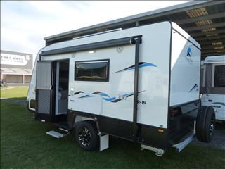 NEW 2018 SNOWY RIVER SR15 16 FT  CARAVAN WITH ENSUITE