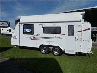 2011 18FT 6IN JAYCO STERLING POP TOP