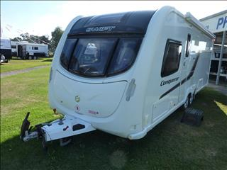 2014 SWIFT CONQUEROR 645 MODEL 21FT 6IN CARAVAN