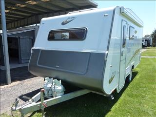 2012 AVAN ASPIRE 499 SINGLE AXLE  17FT CARAVAN WITH SHOWER/TOILET
