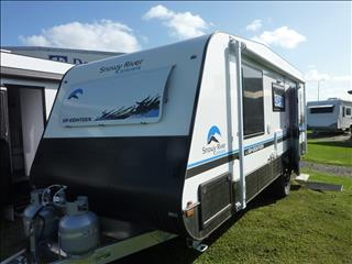NEW 2019 SNOWY RIVER SR18 WHITE SINGLE AXLE CARAVAN ON SALE NOW