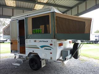 2002 JAYCO FINCH OUTBACK CAMPER - 10 FT BODY SIZE