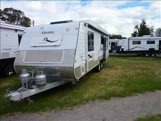 2012 SAHARA OASIS  26FT CARAVAN ON SALE NOW