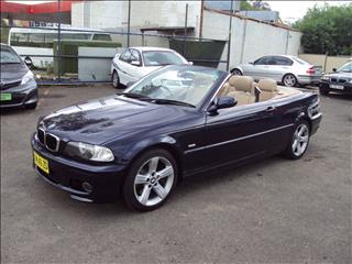 2002 BMW 330CI  E46 2D CONVERTIBLE