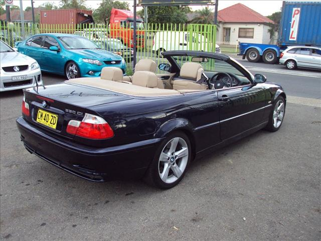 Used BMW CI E D CONVERTIBLE For Sale In Punchbowl - 2002 bmw 330 convertible