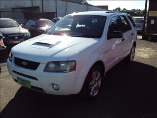 2008 FORD TERRITORY TURBO 4X4 SY 4D WAGON