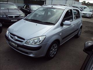 2007 HYUNDAI GETZ 1.6 TB UPGRADE 5D HATCHBACK