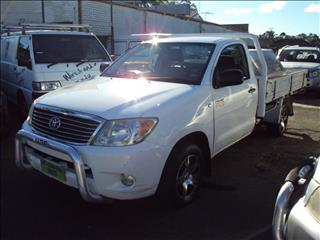 2007 TOYOTA HILUX WORKMATE TGN16R 07 UPGRADE CCHAS