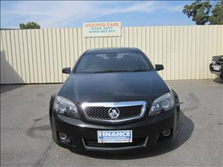 2011 HOLDEN CAPRICE V WM II 4D SEDAN