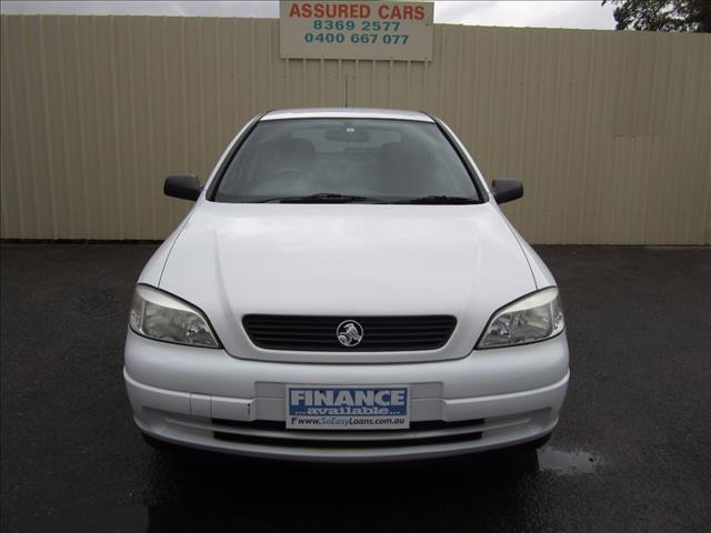2005 HOLDEN ASTRA CLASSIC EQUIPE TS MY05 5D HATCHBACK