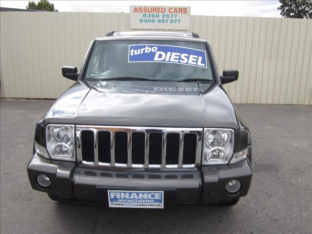 2006 JEEP COMMANDER LIMITED XH 4D WAGON