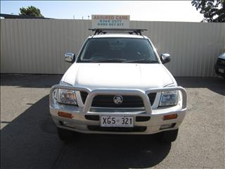 2005 HOLDEN RODEO LT (4x4) RA CREW CAB P/UP