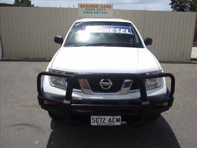 2009 NISSAN NAVARA RX (4x4) D40 DUAL CAB P/UP
